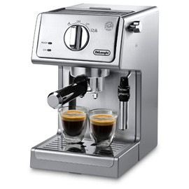 Cappuccino and Espresso Coffee Machine