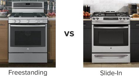Free Standing vs Slide-in Cooking Range