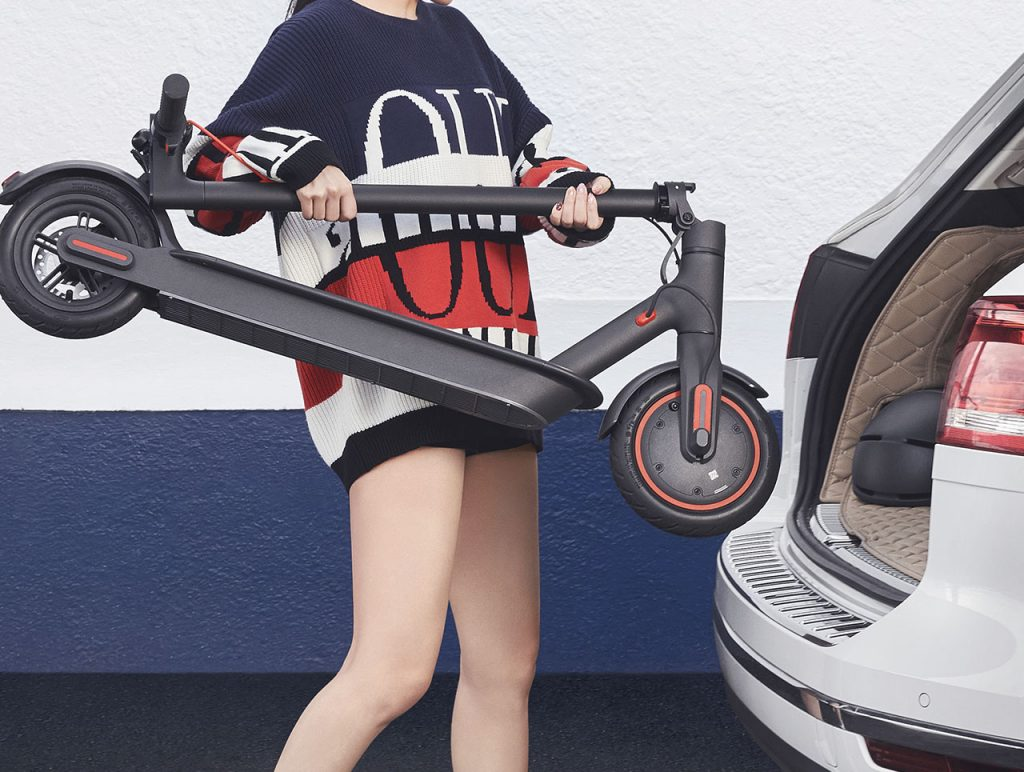 Xiaomi Mijia Pro electric scooter-easily portable/ folding design
