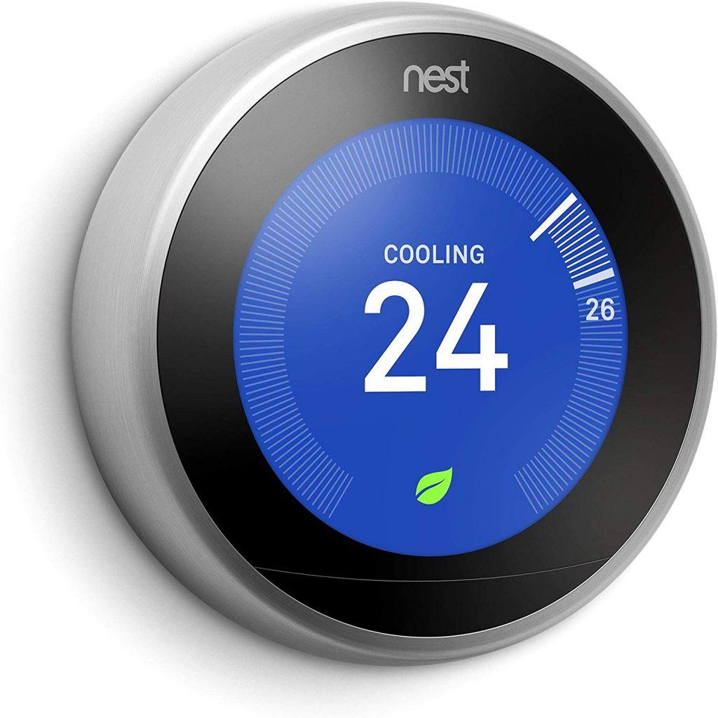 smart home in Dubai- control temperature with Nest thermostat