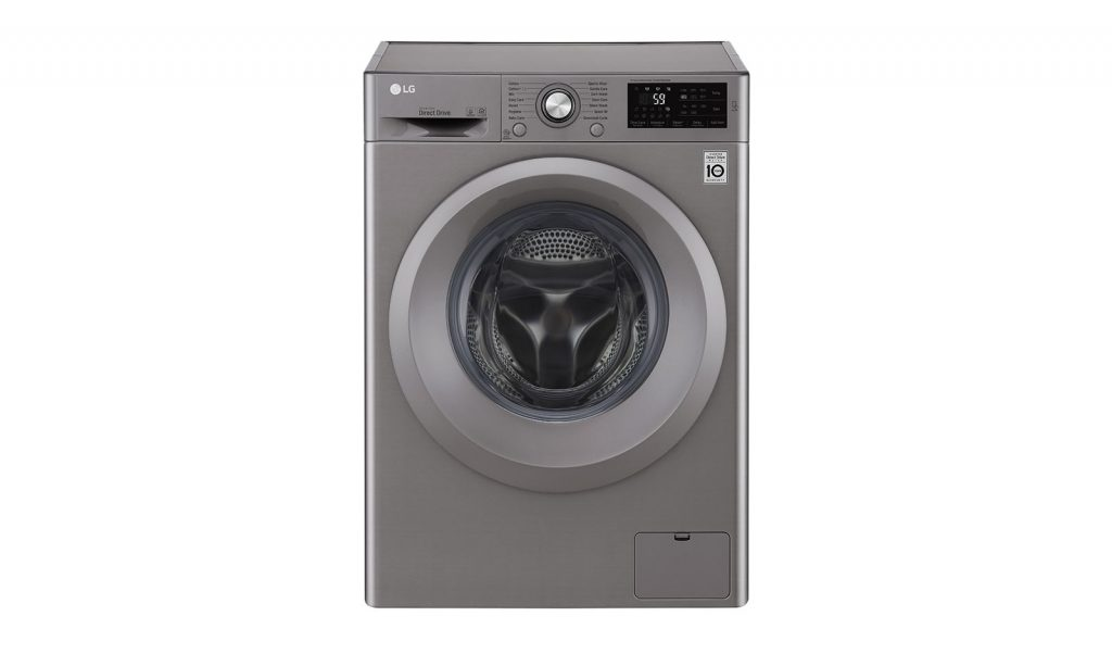 LG 7Kg Front Load best LG washing machine in UAE for small family