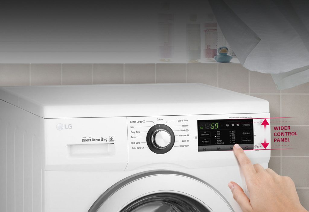 Best LG washing machine in UAE for mid-size family