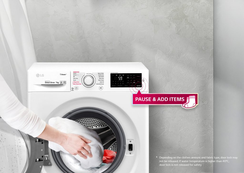 Best LG washing machine in UAE for small family