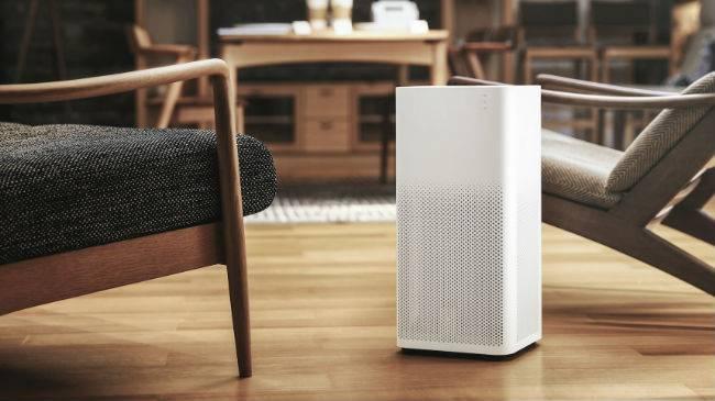 Xiaomi air purifier 2 living room