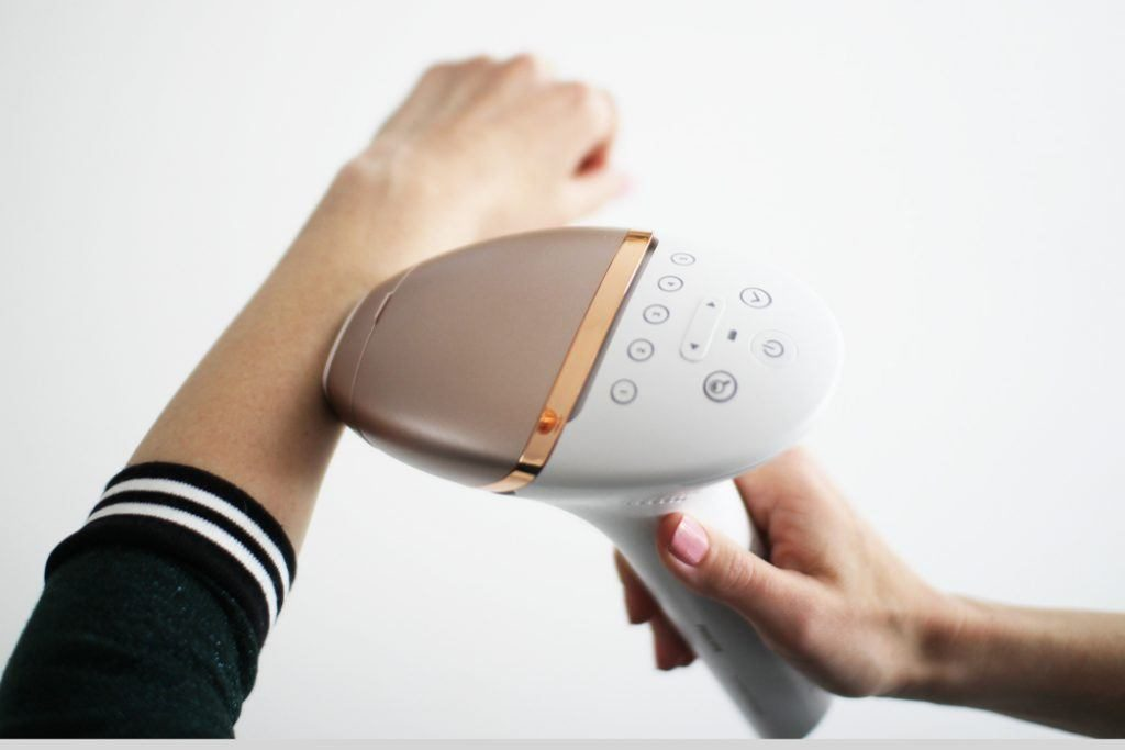 Philips Lumea review for UAE - IPL hair removal device
