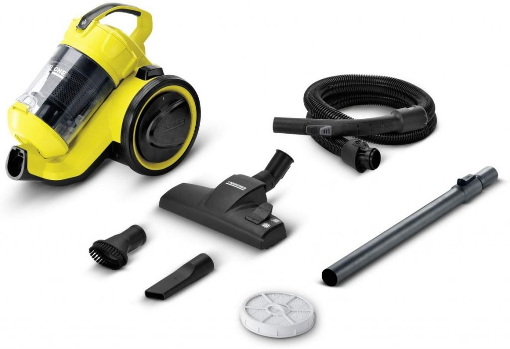 Karcher vacuum cleaner review for UAE canister VC 3 plus