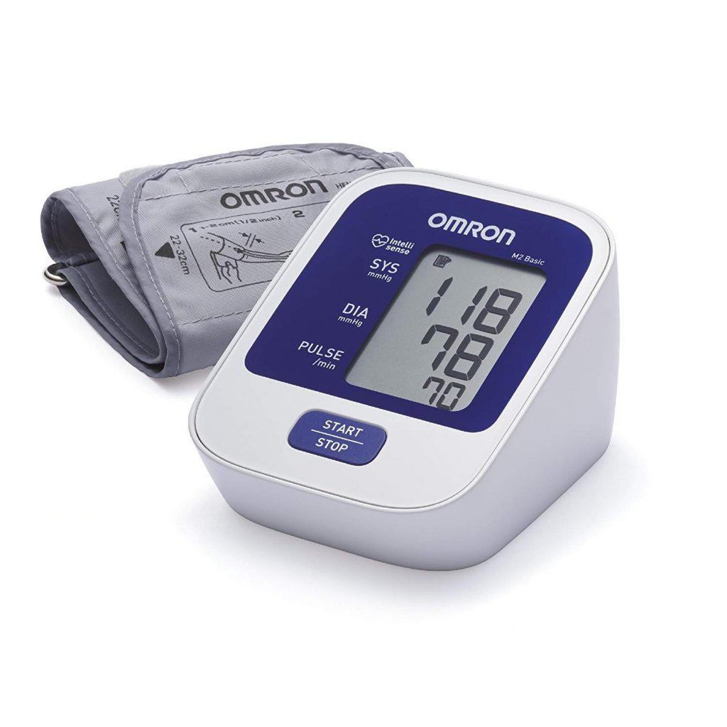 Omron M2 basic blood pressure machine reviews