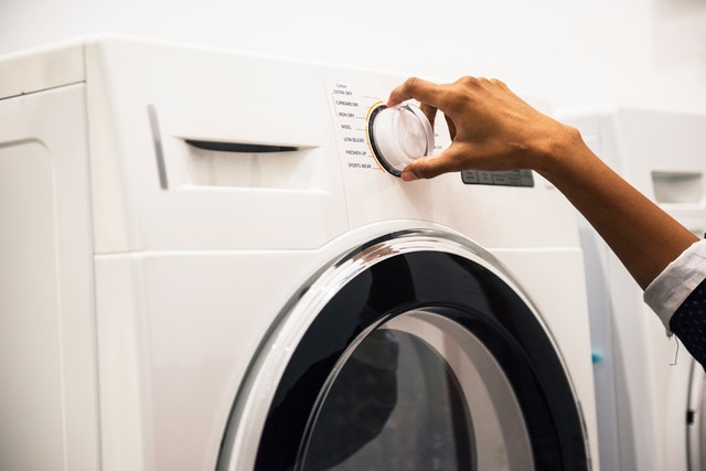 select washing machine cycle