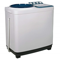 Semi automatic, twin tub washing machine