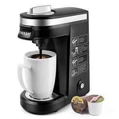 Single cup coffee machine