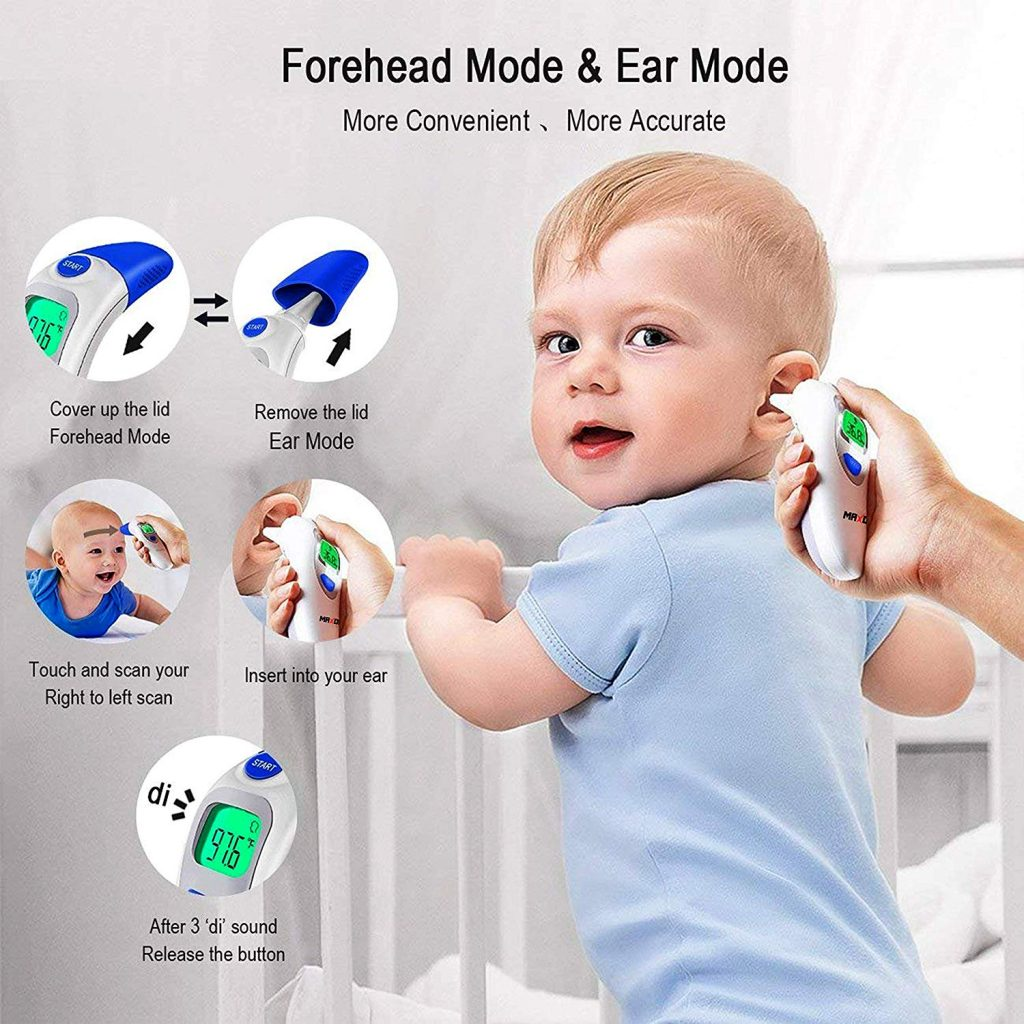 Ear, Forehead, Infrared Thermometer for new born babies and adults in UAE