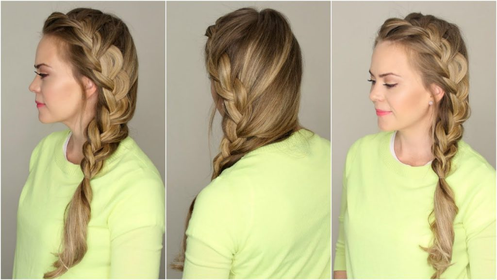 French style side braid