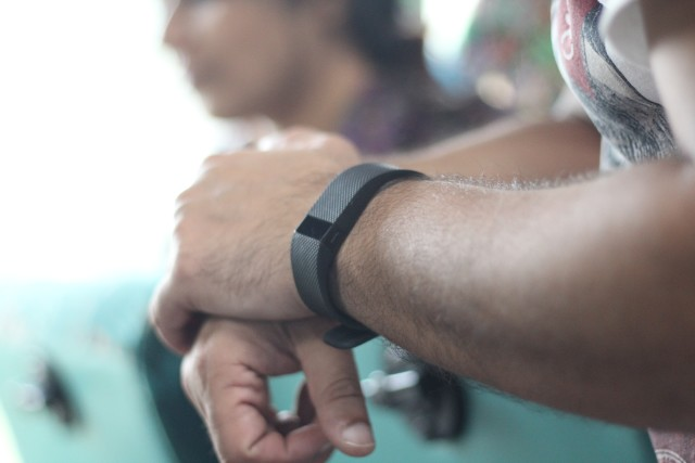 Fit bit Heath Gadget for self-tracking in the UAE