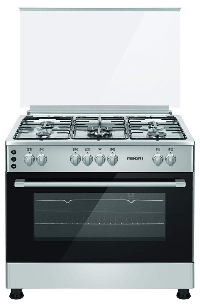 Nikai gas cooking range 5 burners in UAE