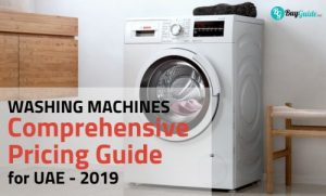 washing machine price guide uae