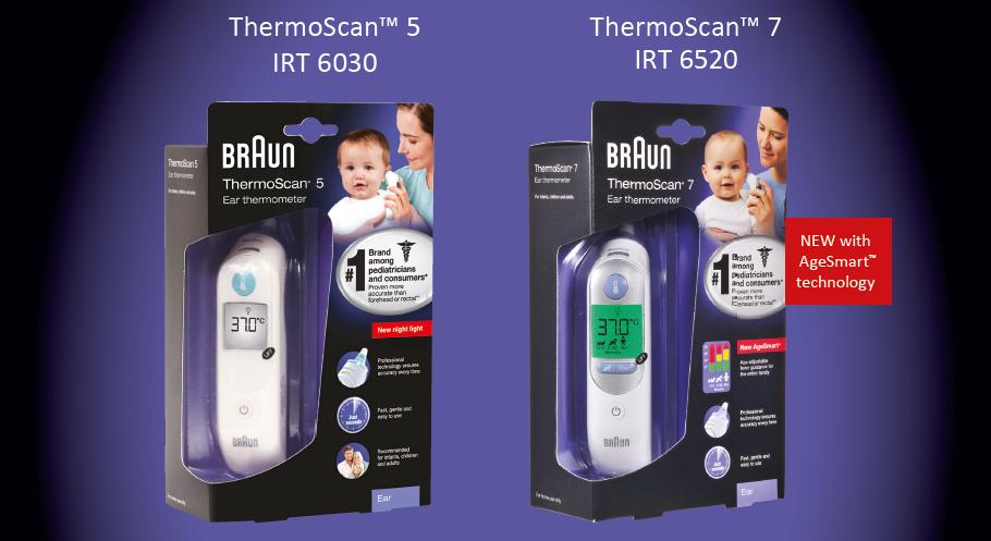 Braun Thermoscan 5 Vs Braun Thermoscan 7