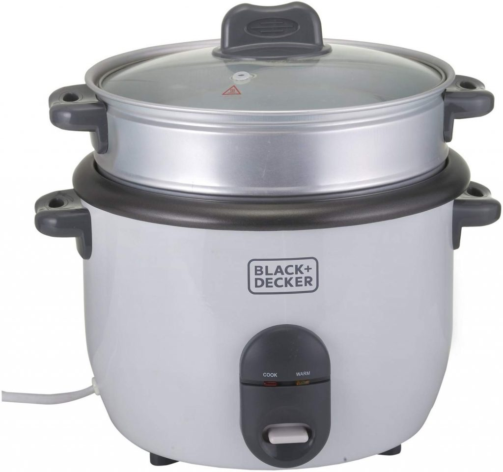 best rice cooker in UAE Black and Decker