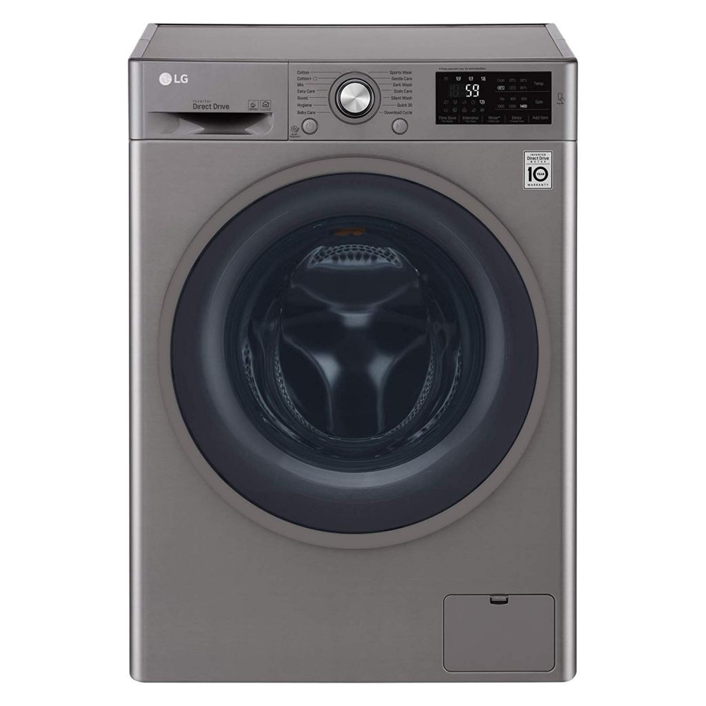 LG 9 Kg Front Load best washing machine in UAE for large family