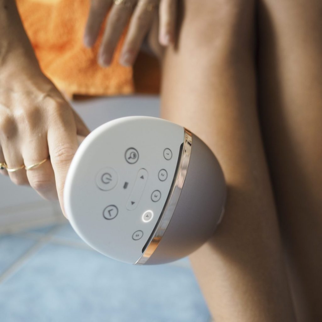 Philips Lumea review for UAE for legs, face, underarms, and bikini line.