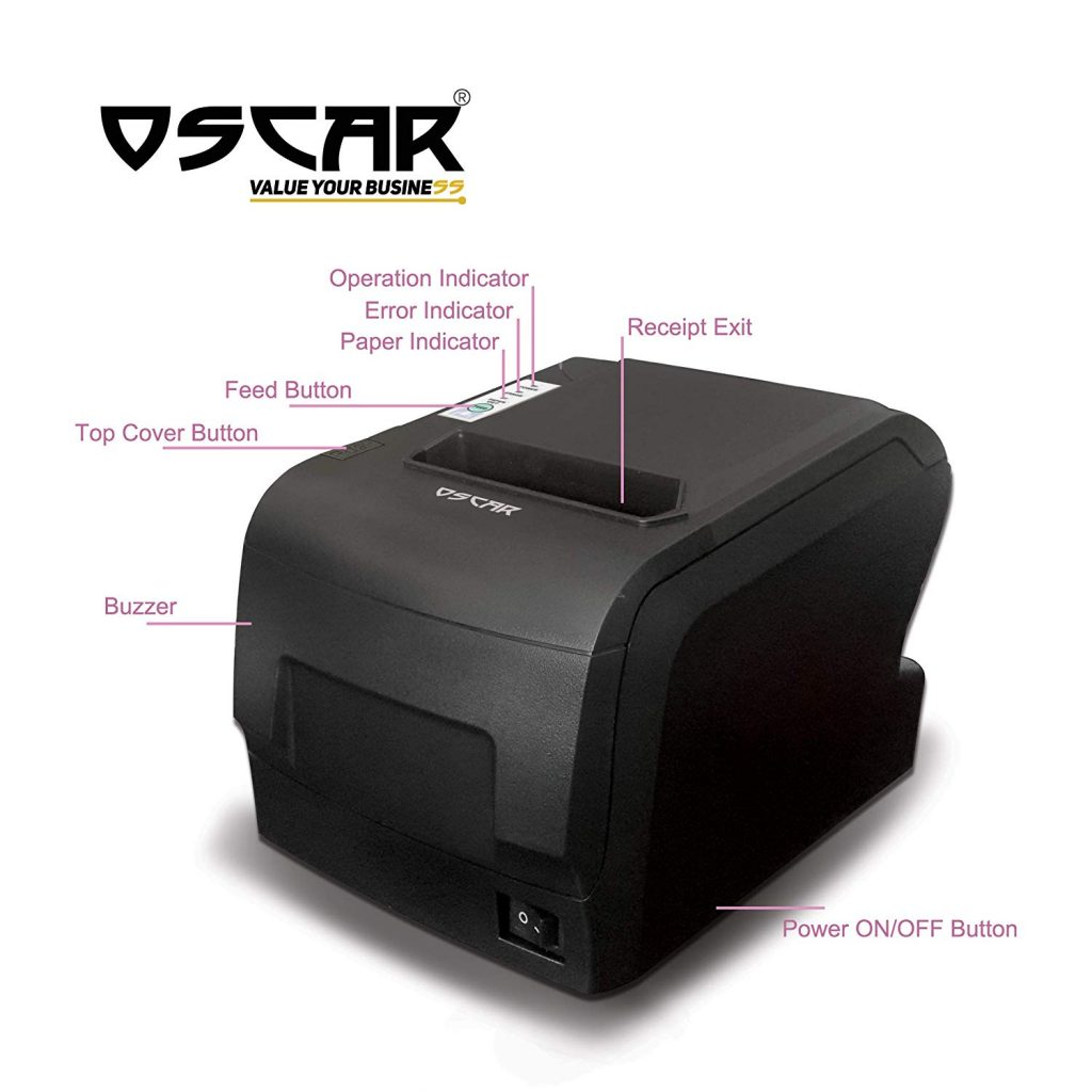 Oscar thermal POS receipt printer