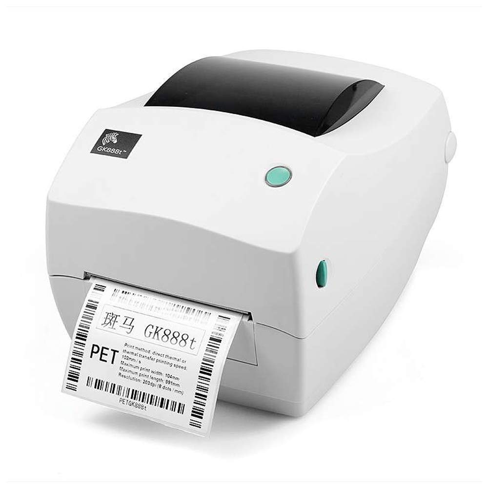 Zebra GK888t - Best Thermal Barcode Label Printer UAE