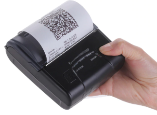 Wireless Portable thermal receipt printer