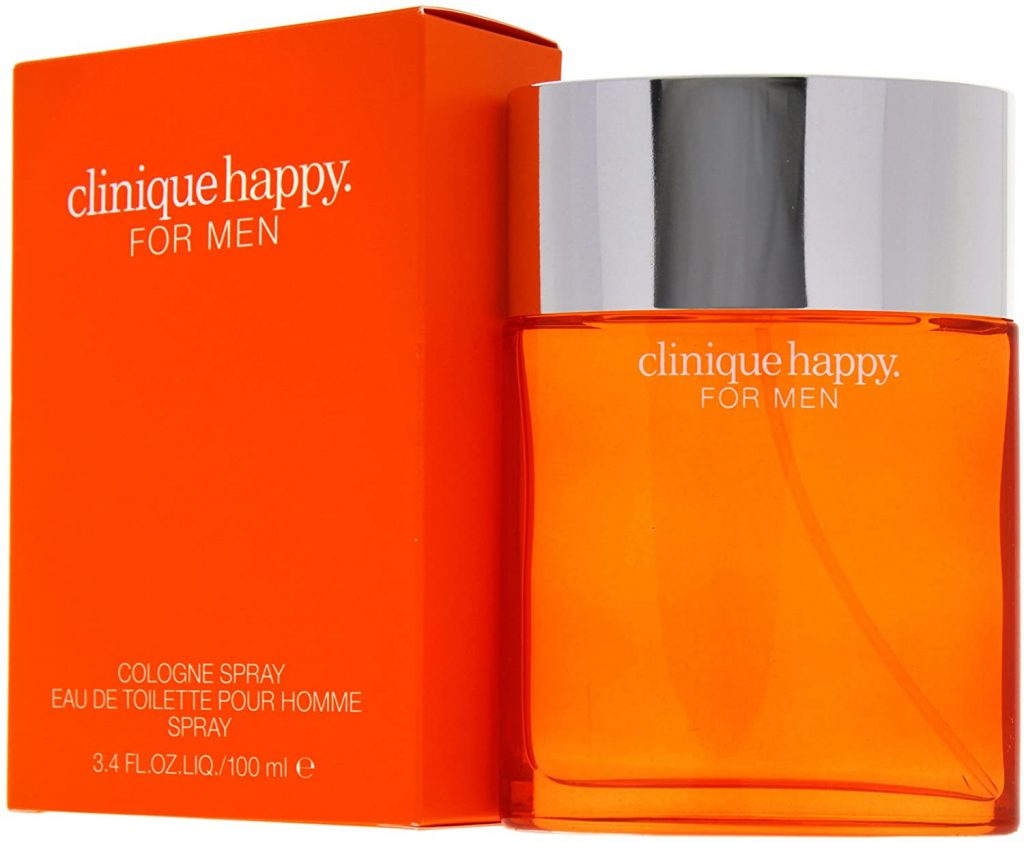Clinique Happy Perfume for Men Cologne Spray/Eau de Toilette