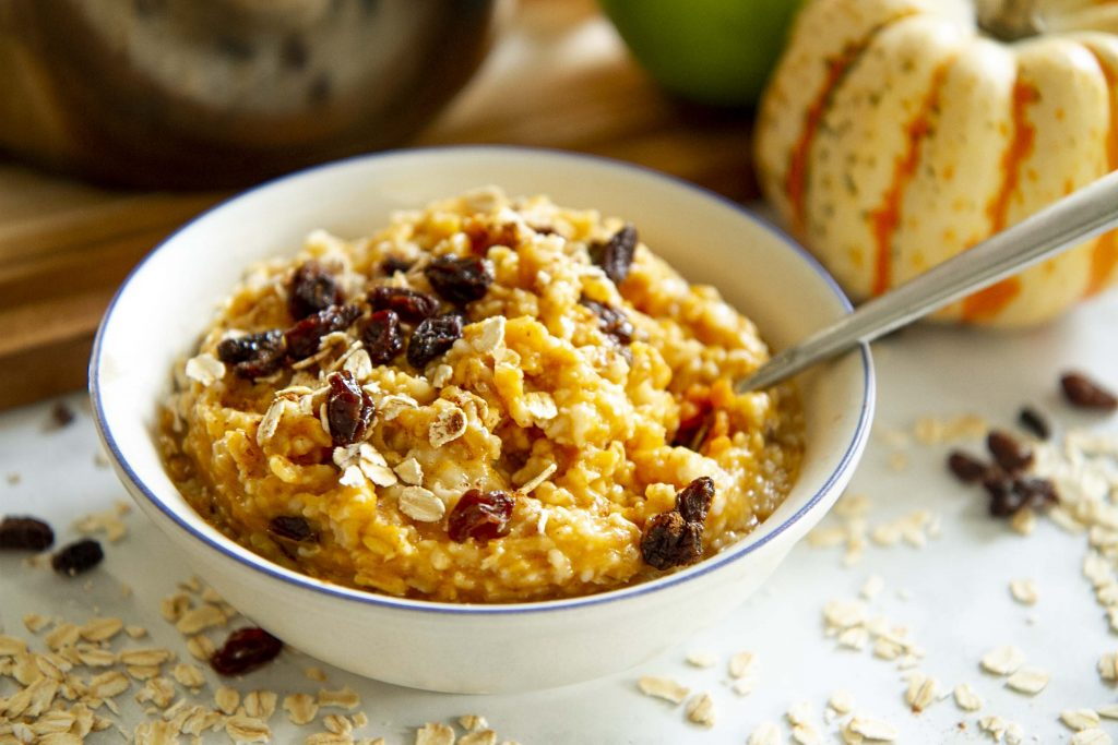 Pumpkin Spice Oatmeal Recipe