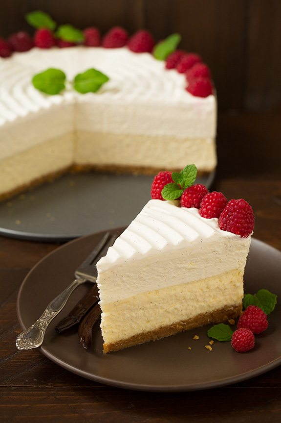 Vanilla Cheesecake - Electric Pressure Cooker Recipes