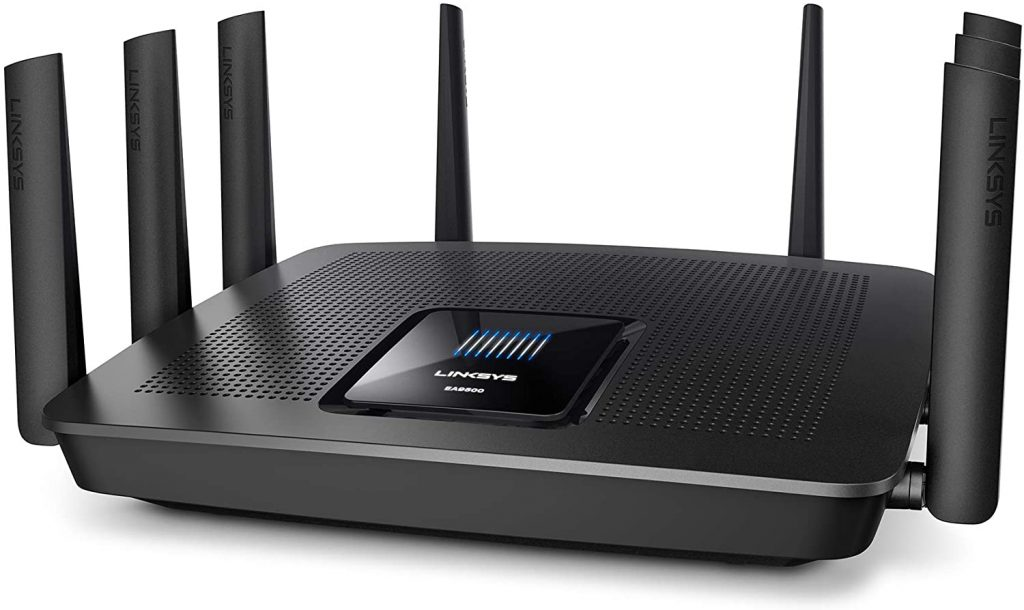 Linksys Max-Stream Tri-Band EA9500 - Best Wifi Router for Offices in UAE