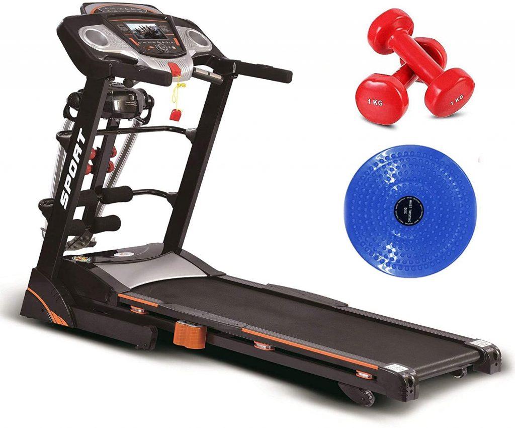Fitness World treadmill in Saudi Arabia