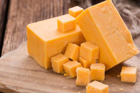 Cheese in an air fryer