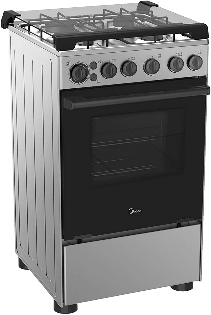 Midea Gas Cooker with 4 gas burners - Best Cooking Range in UAE