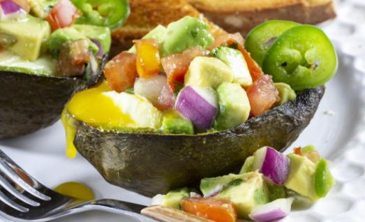 Wake Up Air Fryer Avocado Boats recipe