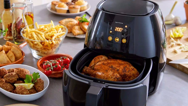 Air fryer cooking time and temperature chart