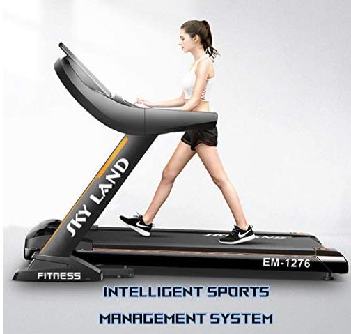 One of the Best Skyland Treadmills in UAE - Skyland 5.5 HP Peak Treadmill EM-1276