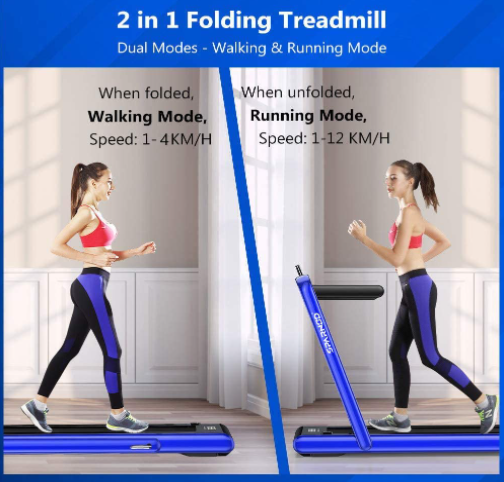 Sparnod Fitness 2 in 1 Treadmill in UAE STH-3020