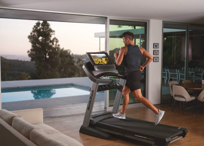 NordicTrack Commercial Treadmill 2950 - One of the best treadmills for serious runners in UAE