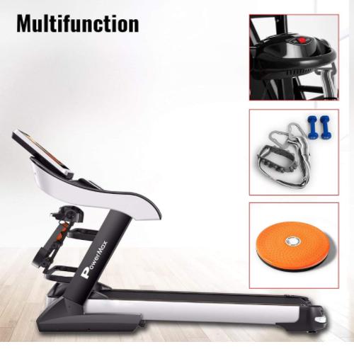 PowerMax Fitness Multifunction Treadmill  TDA-595