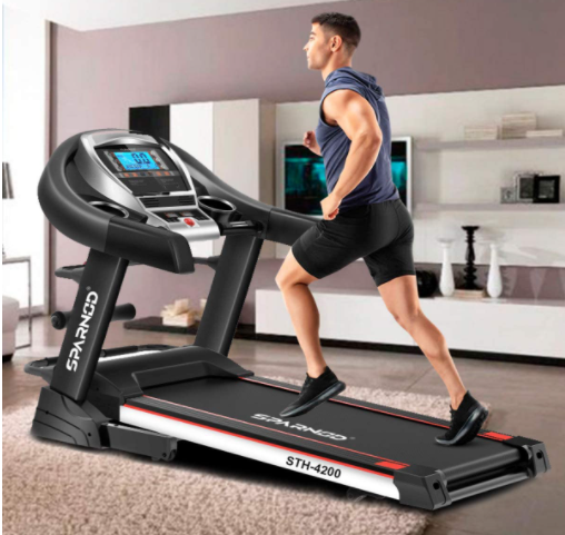 Sparnod Fitness Treadmill STH 4200 - One of the Best Treadmills for Home Use in UAE