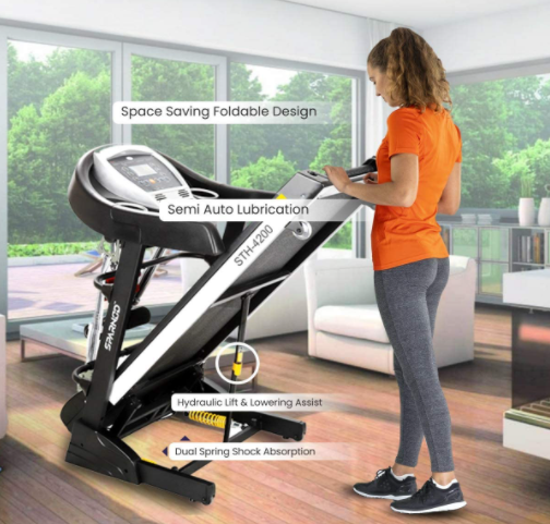 Sparnod Fitness Treadmill for Home Use in UAE - STH 4200