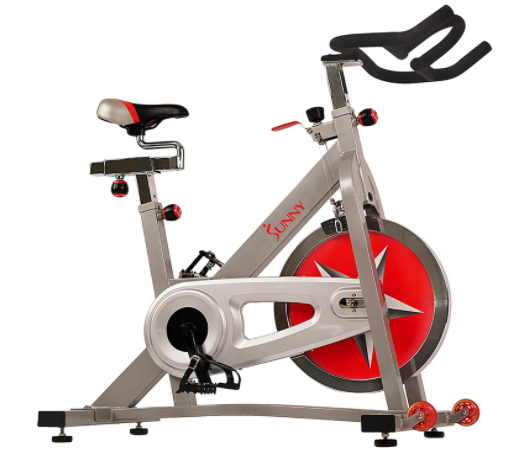 Sunny Health & Fitness Upright Exercise bike - One of the best upright exercise bikes in UAE